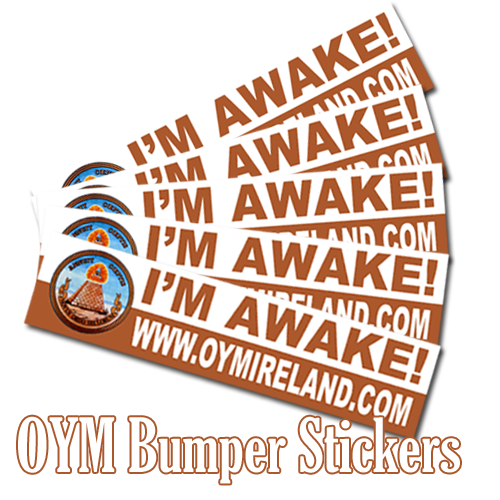 Open your Mind Radio - Bumper Stickers